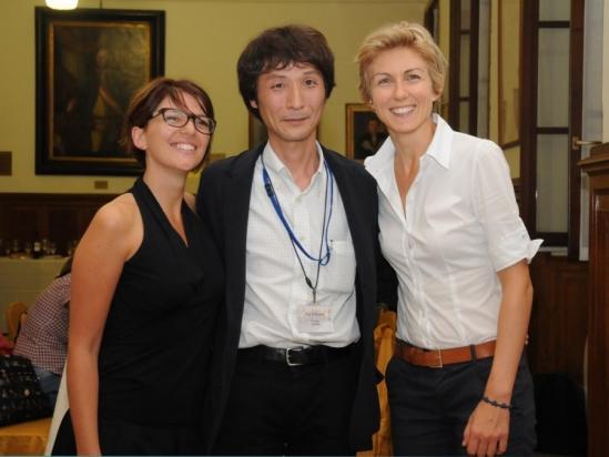 Silvia, Koji & Marta