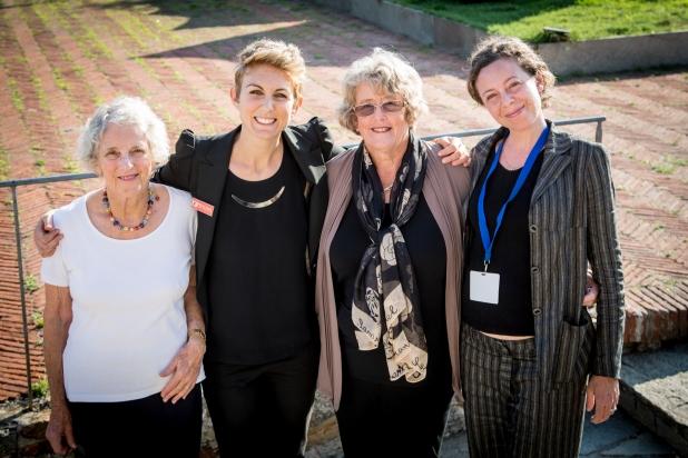 Marta e Manu con le prof. Australiane